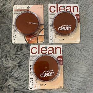Covergirl Clean Pressed Powder 110 125 130